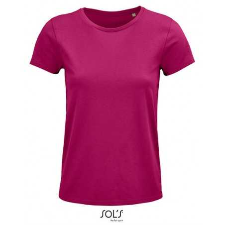 T-shirts-T-shirt woman adjusted in Jersey BIO round neck to personalize-3,70 €-ZZ5-L03581-zigzag-concept.lu-Luxembourg