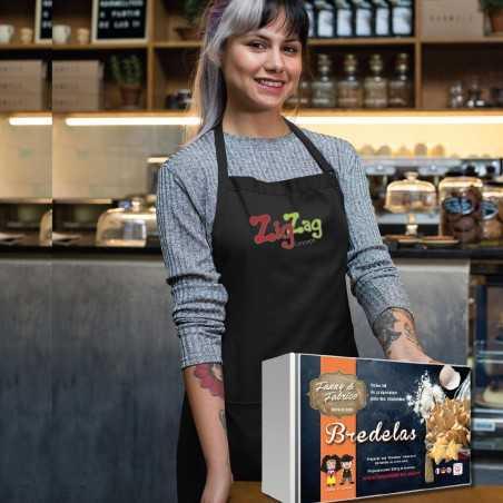 Kit de fabrication de gourmandises Alsacienne au choix avec tablier à personnaliser.